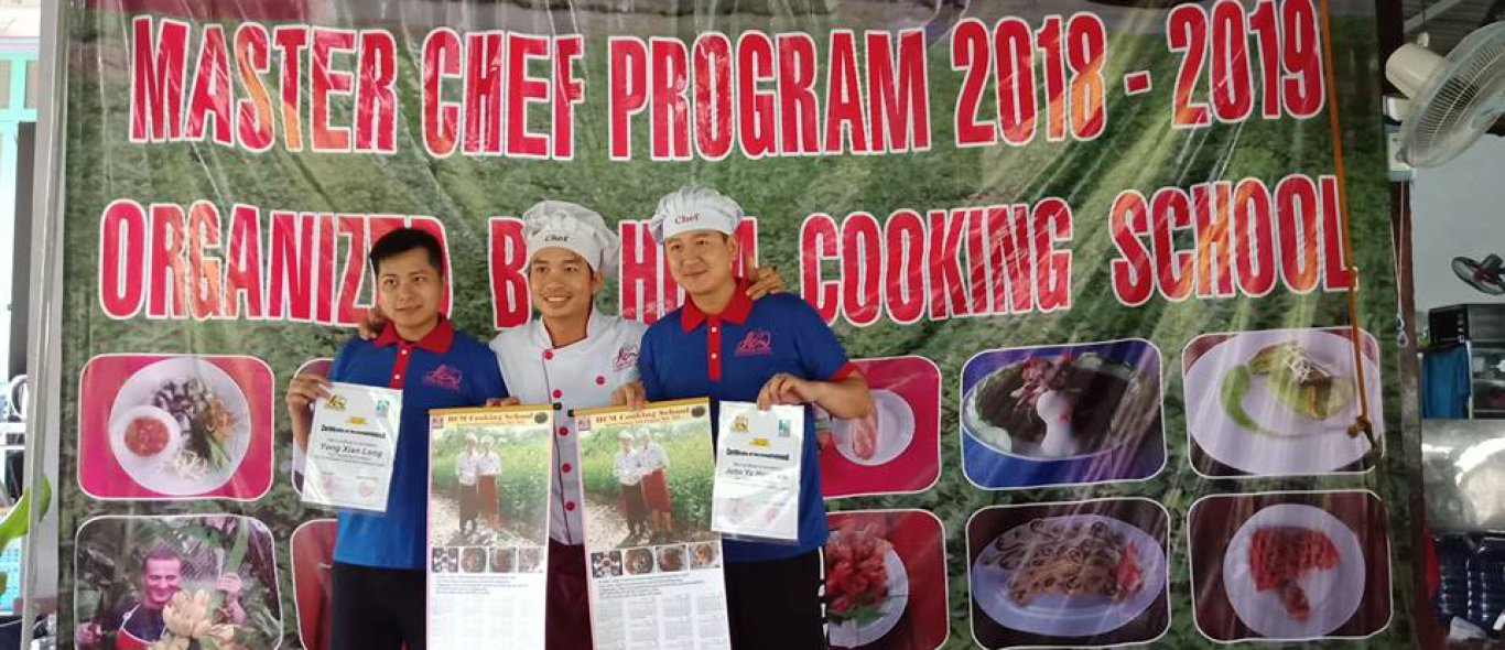 qualify chefs after completing the process course