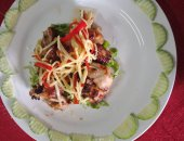 Vietnamese Barbeque Chicken with Ginger Sauce