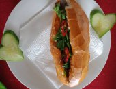 Banh Mi With Barbeque Pork
