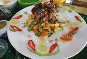 Combination Salad with BBQ chicken Goi Thit Nuong