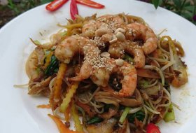 Stir fry Noodle with Prawn