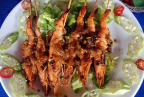 BBQ Prawn with Xo Sauce
