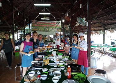 Exploring Vietnamese Cuisine with cu chi Tunnels with Lovely Group