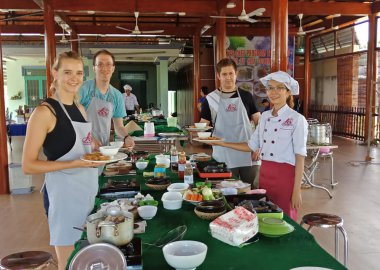 Market  to Farm to Table Cooking Class with Lovely group