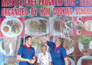 Exploring Vietnamese Cuisine with cu chi Tunnels with Lovely Couple